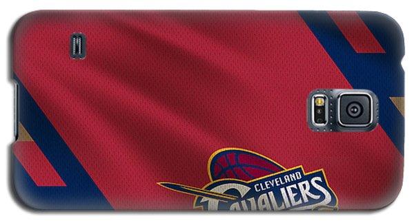 Cleveland Cavaliers Uniform Galaxy S5 Case by Joe Hamilton