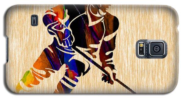 Hockey Galaxy S5 Case by Marvin Blaine