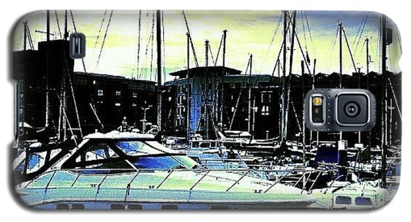 Hdr_pics Galaxy S5 Case - Hull Marina!! by Chris Drake