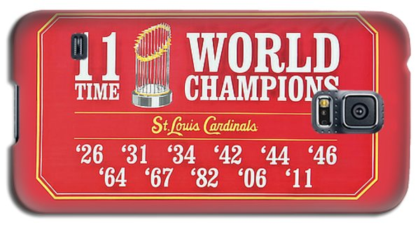 11 Time World Chapion Poster Dsc01106 Galaxy S5 Case