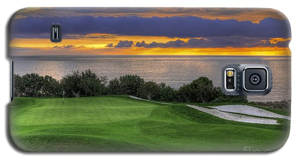 11th Green - Trump National Golf Course Galaxy S5 Case by Eddie Yerkish