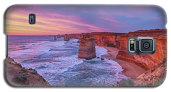 12 Apostles At Sunset Pano Galaxy S5 Case