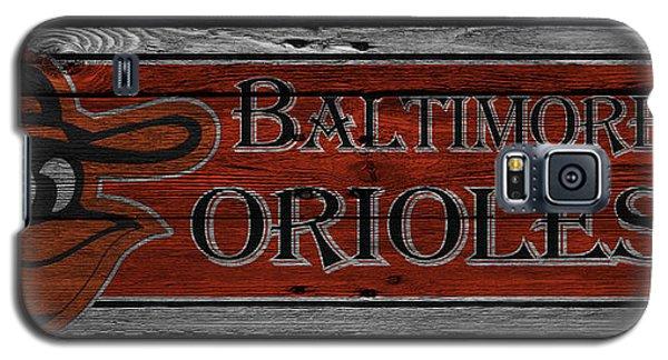 Oriole Galaxy S5 Case - Baltimore Orioles by Joe Hamilton