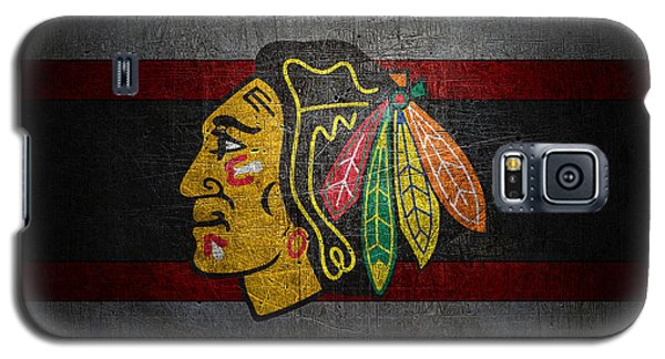 Chicago Blackhawks Galaxy S5 Case by Joe Hamilton