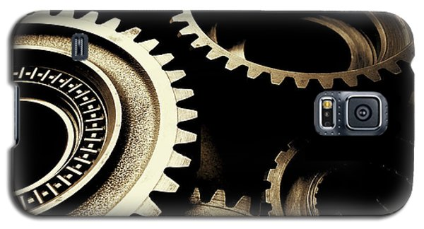 Cogs Galaxy S5 Case by Les Cunliffe