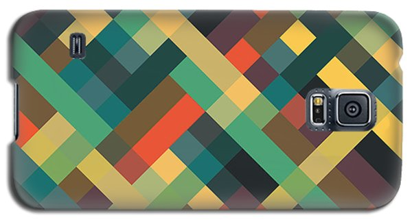Geometric Galaxy S5 Case by Mike Taylor