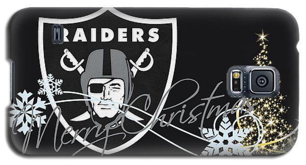 Oakland Raiders Galaxy S5 Case by Joe Hamilton