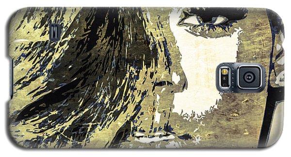 Galaxy S5 Case featuring the digital art Rihanna by Svelby Art