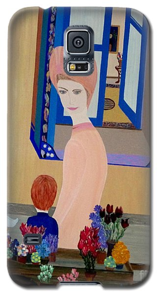 Galaxy S5 Case featuring the painting 12 Rue Cadet by Bill OConnor