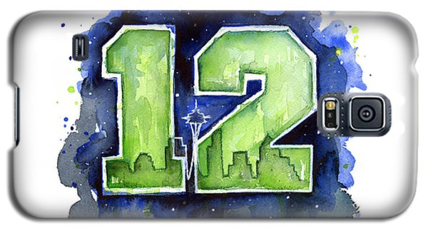 12th Man Seahawks Art Seattle Go Hawks Galaxy S5 Case