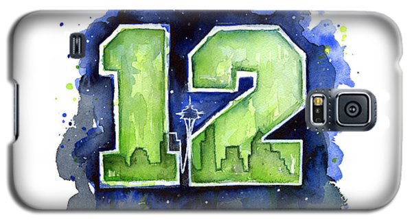 12th Man Seahawks Art Seattle Go Hawks Galaxy S5 Case