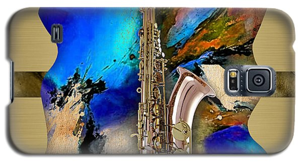 Saxophone Collection Galaxy S5 Case by Marvin Blaine