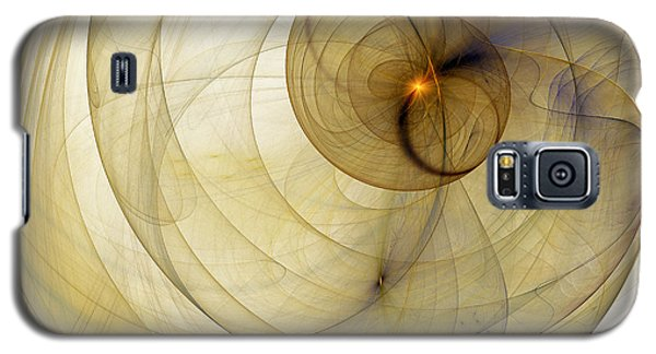 Colorful Abstract Forms Galaxy S5 Case by Odon Czintos
