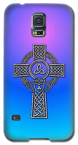 Celtic Cross Galaxy S5 Case by Ireland Calling