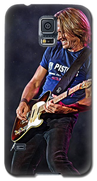 Keith Urban Galaxy S5 Case by Don Olea