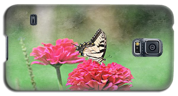 Galaxy S5 Case featuring the photograph Swallowtail Butterfly by Lila Fisher-Wenzel