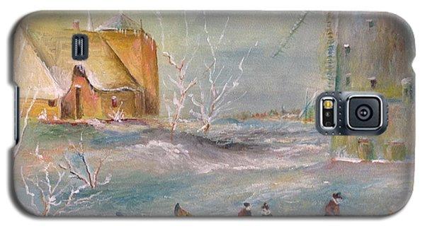 Winter Landscape Galaxy S5 Case by Egidio Graziani