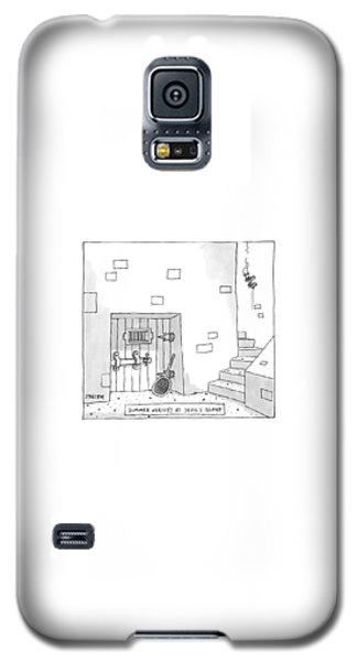 Dungeon Galaxy S5 Case - Captionless by Jack Ziegler