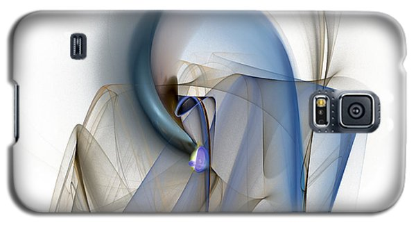 Colorful Abstract Forms Galaxy S5 Case