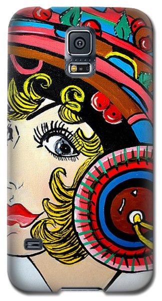 Art Deco  Ann Galaxy S5 Case