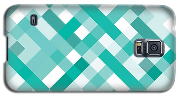 Galaxy S5 Case featuring the digital art Geometric by Mike Taylor