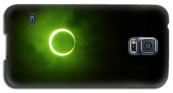 15 January 2010 Solar Eclipse Maldives Galaxy S5 Case by Jenny Rainbow