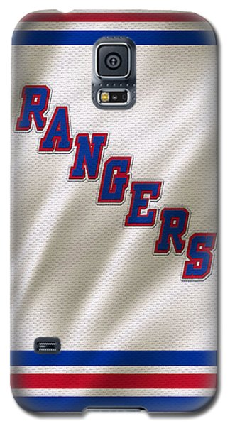 New York Rangers Galaxy S5 Case by Joe Hamilton
