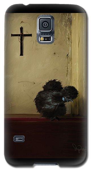 16. Black Silkie Galaxy S5 Case