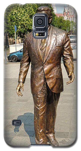 Budapest Hungary - Ronald Reagan Statue Galaxy S5 Case