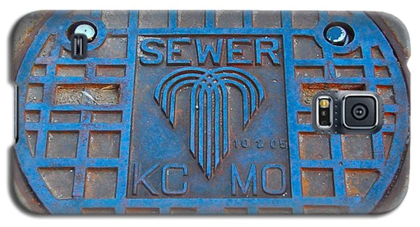 Man Hole Covers Kc Galaxy S5 Case