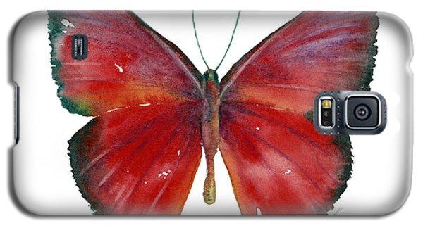 16 Mesene Rubella Butterfly Galaxy S5 Case