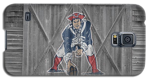 New England Patriots Galaxy S5 Case by Joe Hamilton