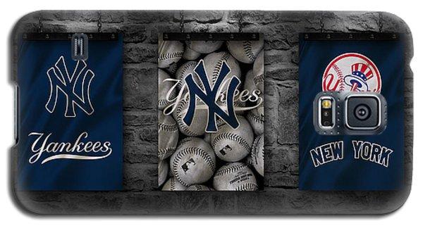 New York Yankees Galaxy S5 Case - New York Yankees by Joe Hamilton