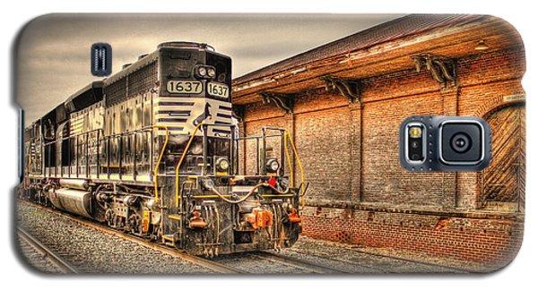 Locomotive 1637 Norfork Southern Galaxy S5 Case