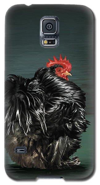 17. Black Frizzle Cochin Bantam Galaxy S5 Case