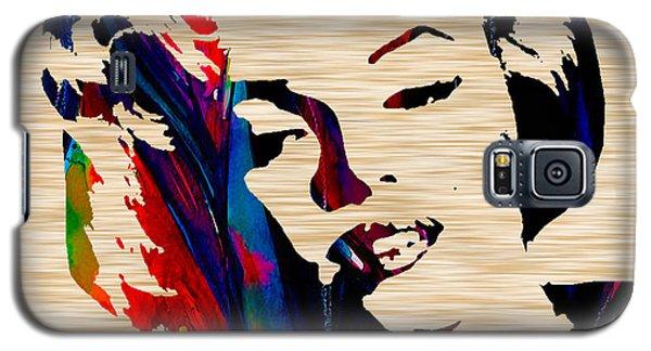Marilyn Monroe Galaxy S5 Case by Marvin Blaine
