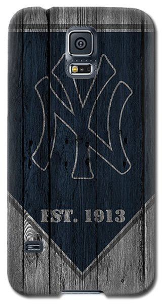 Bat Galaxy S5 Case - New York Yankees by Joe Hamilton