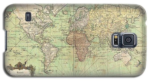 1778 Bellin Nautical Chart Or Map Of The World Galaxy S5 Case by Paul Fearn