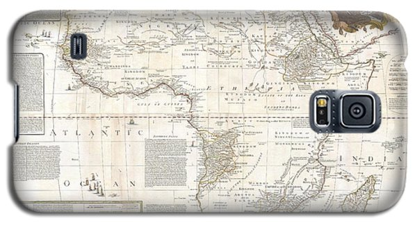 1787 Boulton  Sayer Wall Map Of Africa Galaxy S5 Case by Paul Fearn