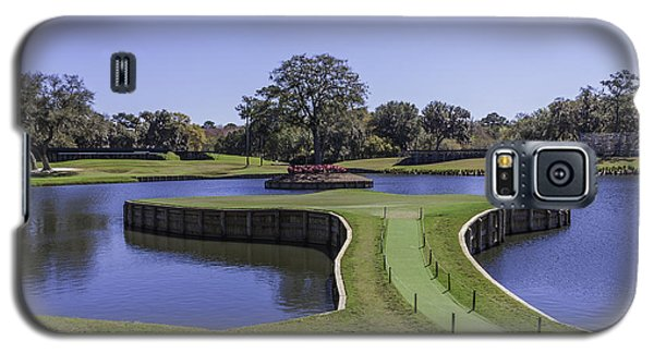 17th Hole Or Island Green At Tpc Sawgrass Galaxy S5 Case