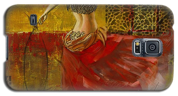 Abstract Belly Dancer 6 Galaxy S5 Case by Corporate Art Task Force
