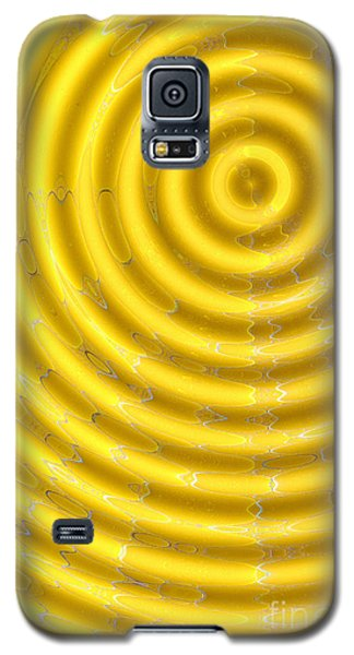 Oil Drops On The Water Galaxy S5 Case