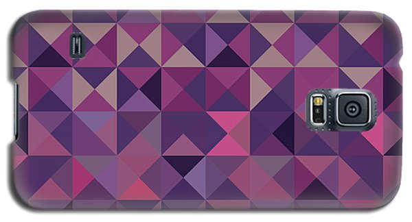 Galaxy S5 Case featuring the digital art Retro Pixel Art by Mike Taylor