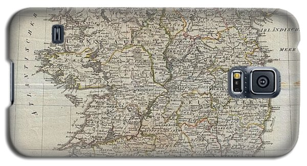1804 Jeffreys And Kitchin Map Of Ireland Galaxy S5 Case by Paul Fearn