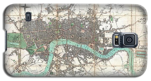 1806 Mogg Pocket Or Case Map Of London Galaxy S5 Case by Paul Fearn