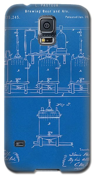 1873 Brewing Beer And Ale Patent Artwork - Blueprint Galaxy S5 Case