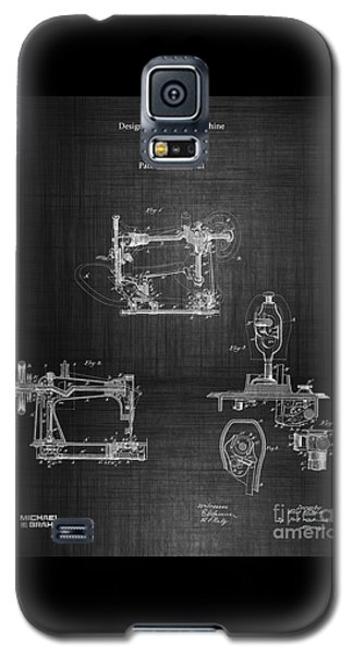1885 Singer Sewing Machine Galaxy S5 Case