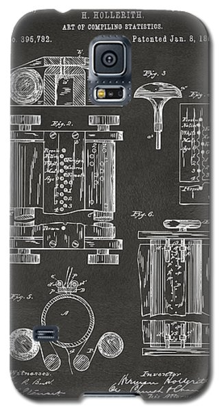 1889 First Computer Patent Gray Galaxy S5 Case by Nikki Marie Smith