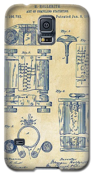 1889 First Computer Patent Vintage Galaxy S5 Case