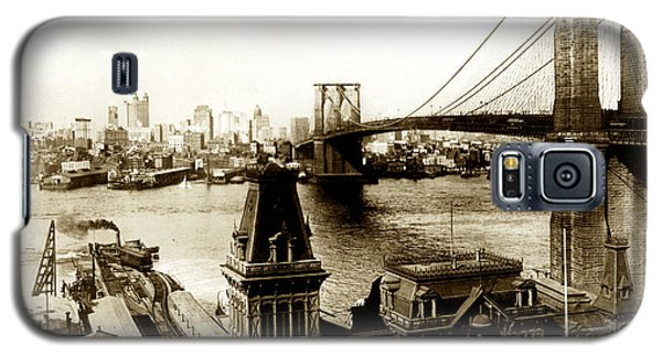 1890 Brooklyn New York Galaxy S5 Case by Historic Image